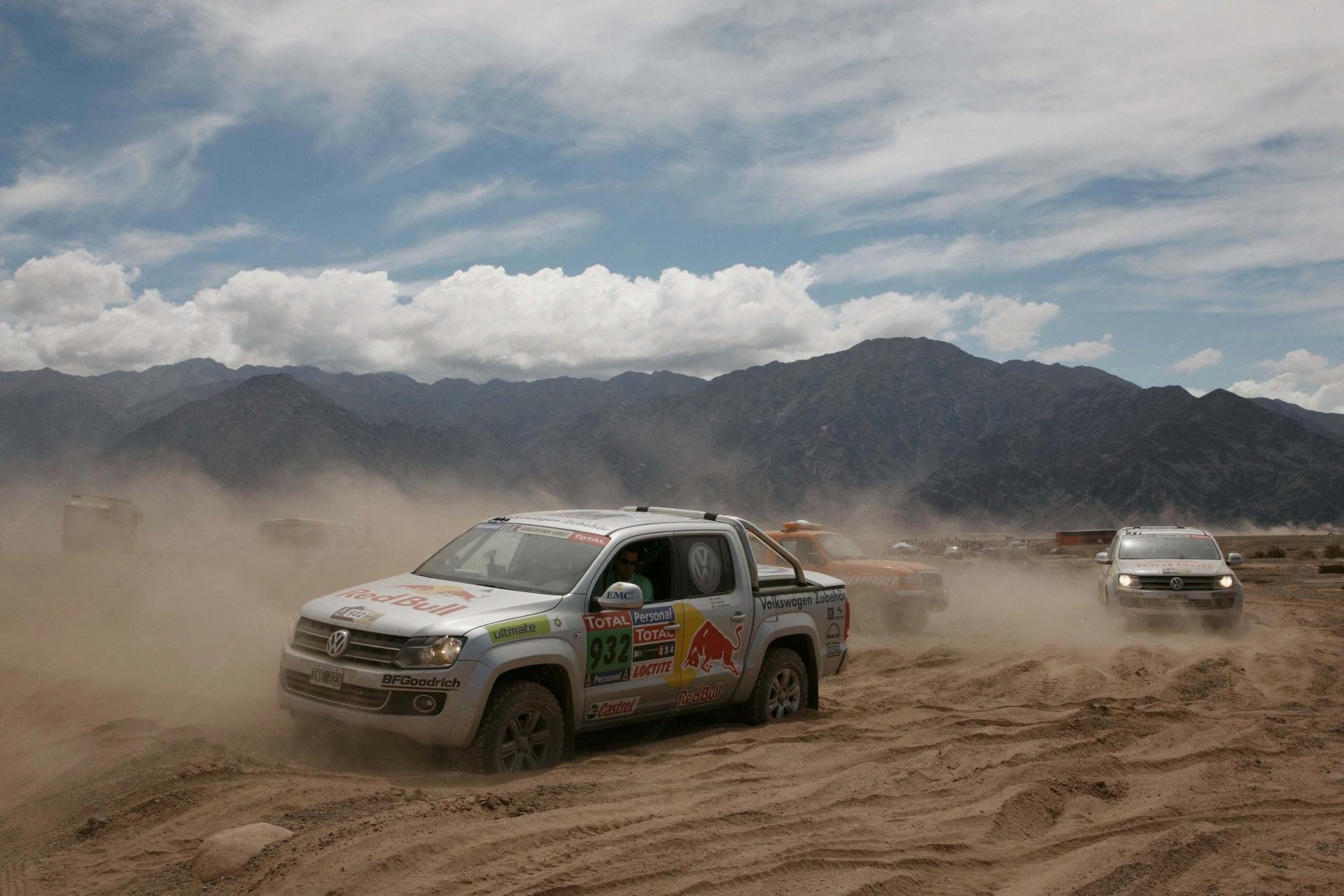 Auto supporto alla Dakar !